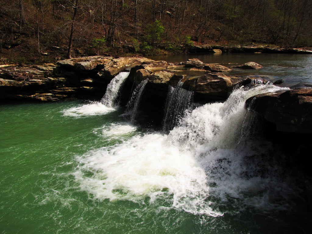 Kings River Falls Arkansas Map