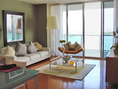 Flamingo South Beach Center Tower Living Room Flamingo