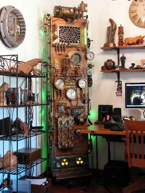 Steampunk Frankenstein Computer By Dana Mattocks Flickr
