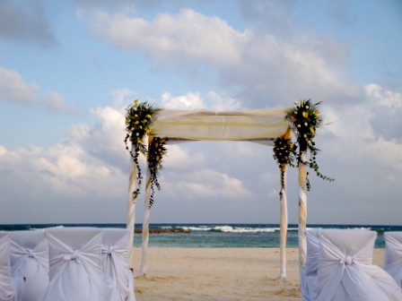 Beachfront Wedding Wedding Decorations If You Are