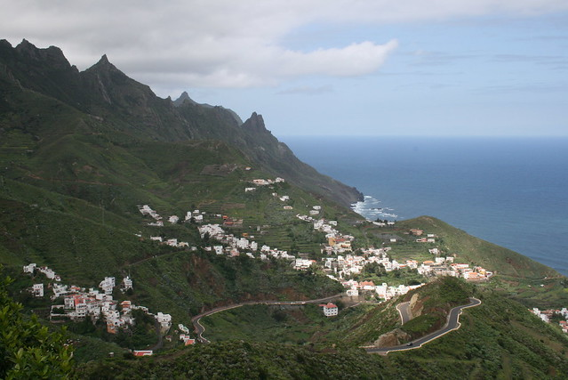The view of Taganana, Tenerife