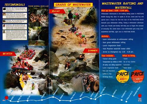 Brochure Khampan Rafting Chiang Mai Thailand 2