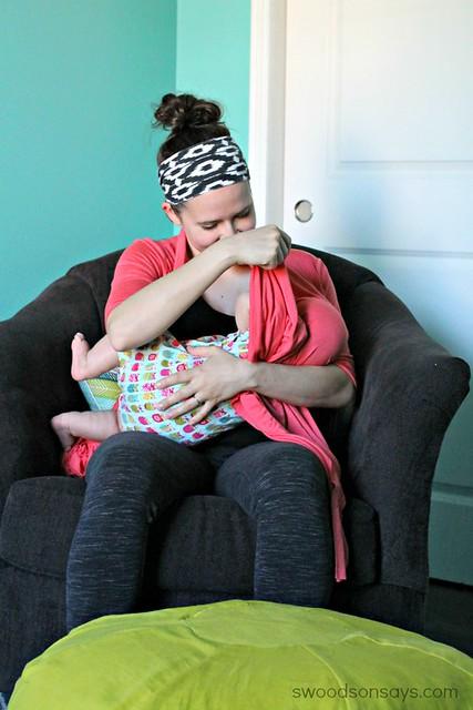 breastfeeding cardigan