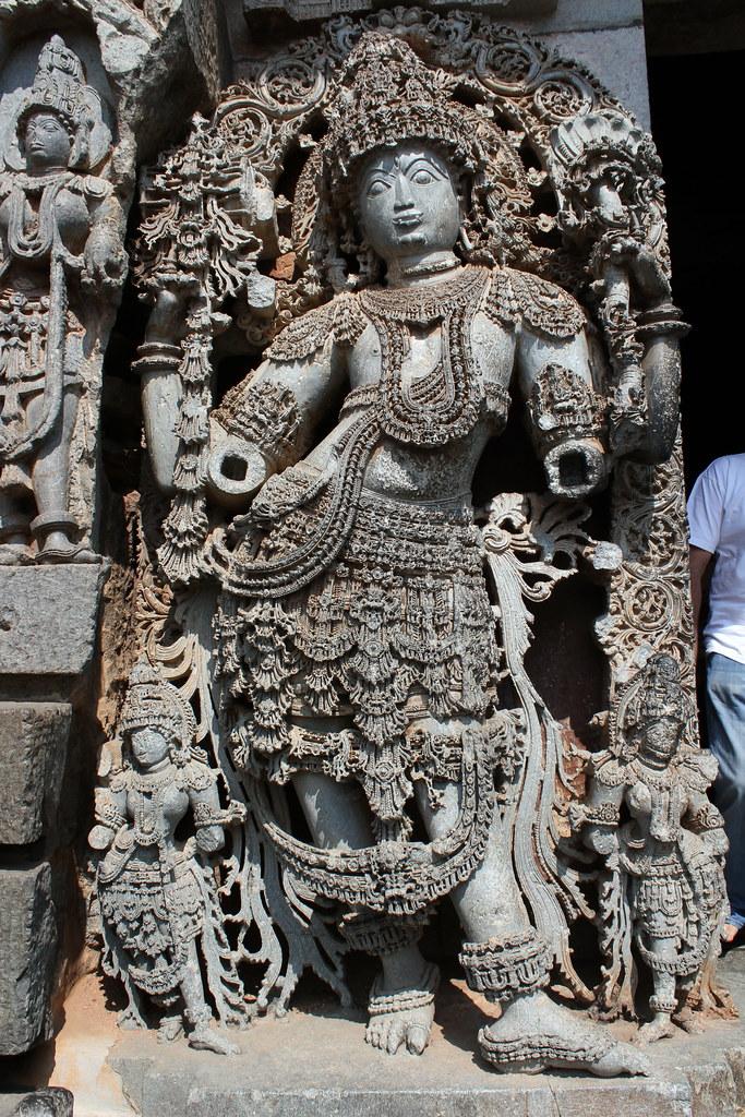 Halebidu Hoysaleswara Temple Dwarapala Halebidu