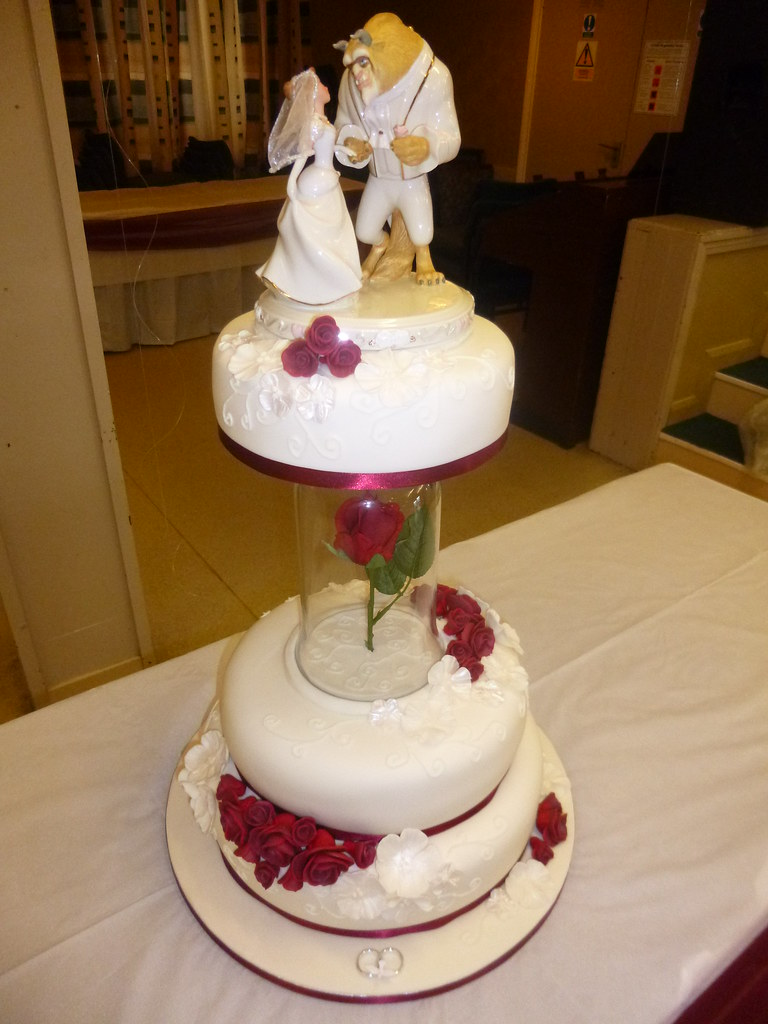 Beauty And The Beast Wedding Cake Dawn Flickr