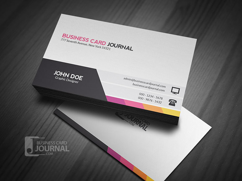 Personal Business Trainer Card Sample