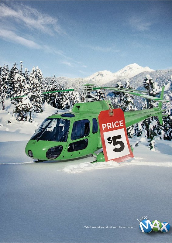 Lotto Max - Helicopter