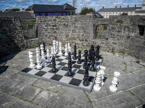 Chess Set at Athalon Castle