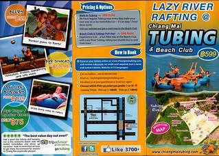 Brochure Chiang Mai Tubing and Beach Club Thailand 1