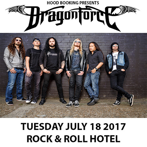 Dragonforce at Rock & Roll Hotel