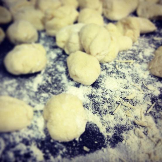 Gnochi de patata y harina de trigo