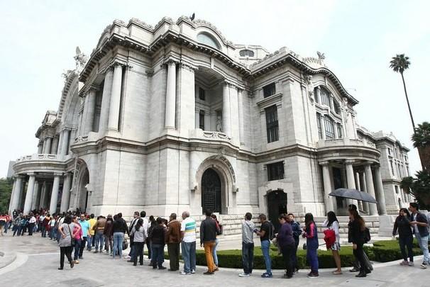 Da Vinci y Buonarroti atraen a más de 30 mil visitantes a Bellas Artes