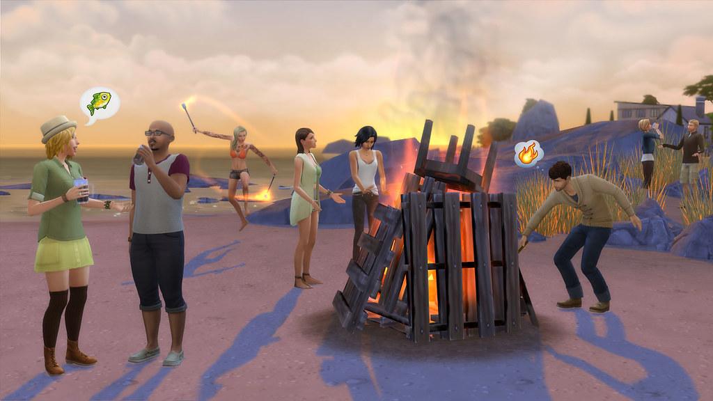 Sims 4 vivre ensemble