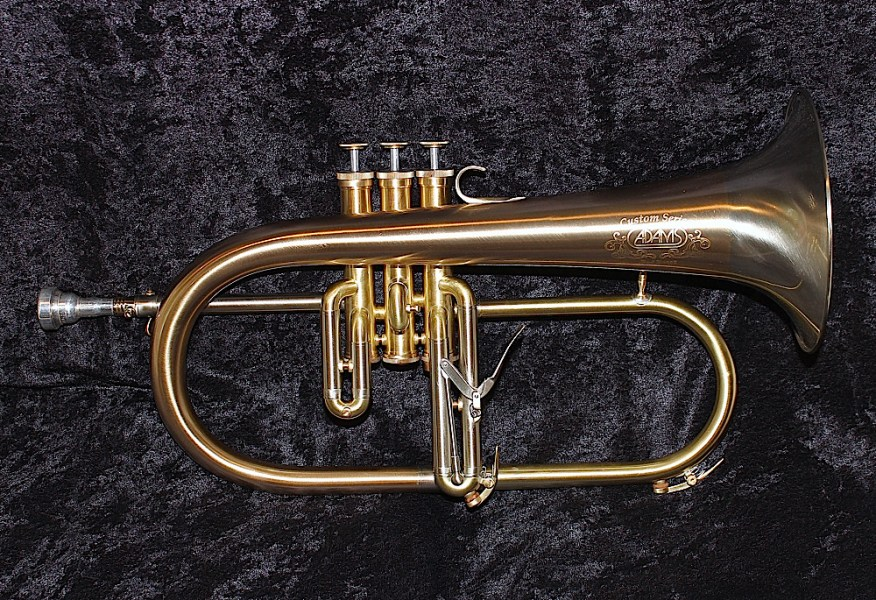 Carolbrass Flugelhorn compared to others   View topic  Trumpet     ADAMS F1
