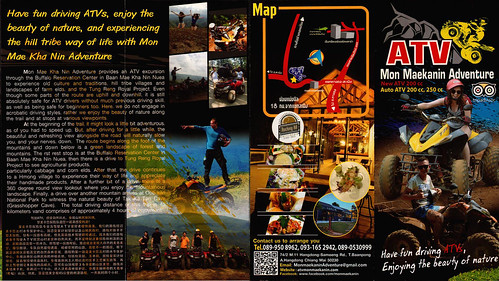 Brochure Mon Maekanin Adventure Chiang Mai Thailand 1