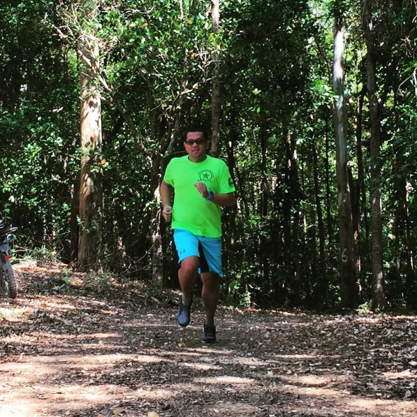 Running at PIN Road