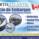 Servicio de embarque de Estados Unidos y Canada hacia Centro america y Panama - 11ago14