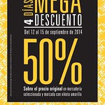 MEGA Descuento 50 OFF prisma moda fashion apparel - 12sep14