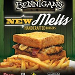 oferta new MELTS hand crafted BURGER by Bennigans promotion - 14ago14