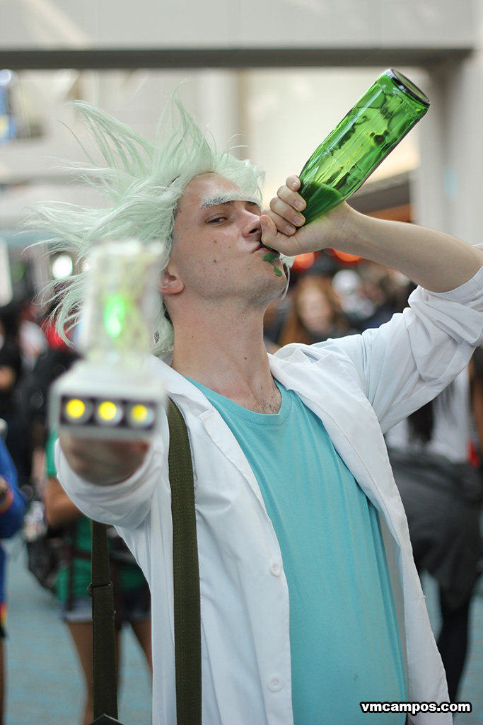 Rick Sanchez From The Adult Swim Show Rick And Morty
