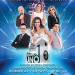 Gran inicio de segunda temporada NUMERO UNO live stream - 05sep14