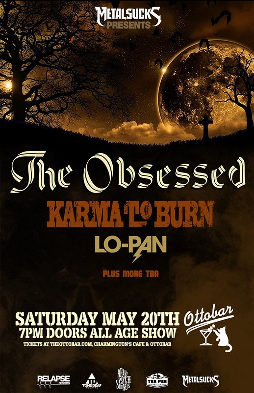 The Obsessed at Ottobar