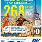 television satelital SKY promocion el salvador - 08sep14