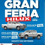 During all september TOYOTA HILUX savings - 02sep14