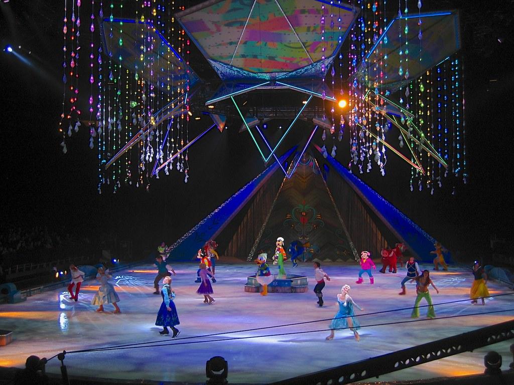 Frozen Disney On Ice Skating Show Debut In Orlando Flickr