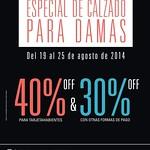 Especial de calzado para damas PRISMA MODA discounts - 19ago14