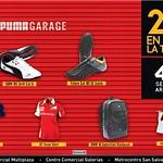 PUMA garage promotion sport products - 01ago14