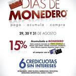 Dias de monedero SIMAN promociones y credi cuotas - 29ago14
