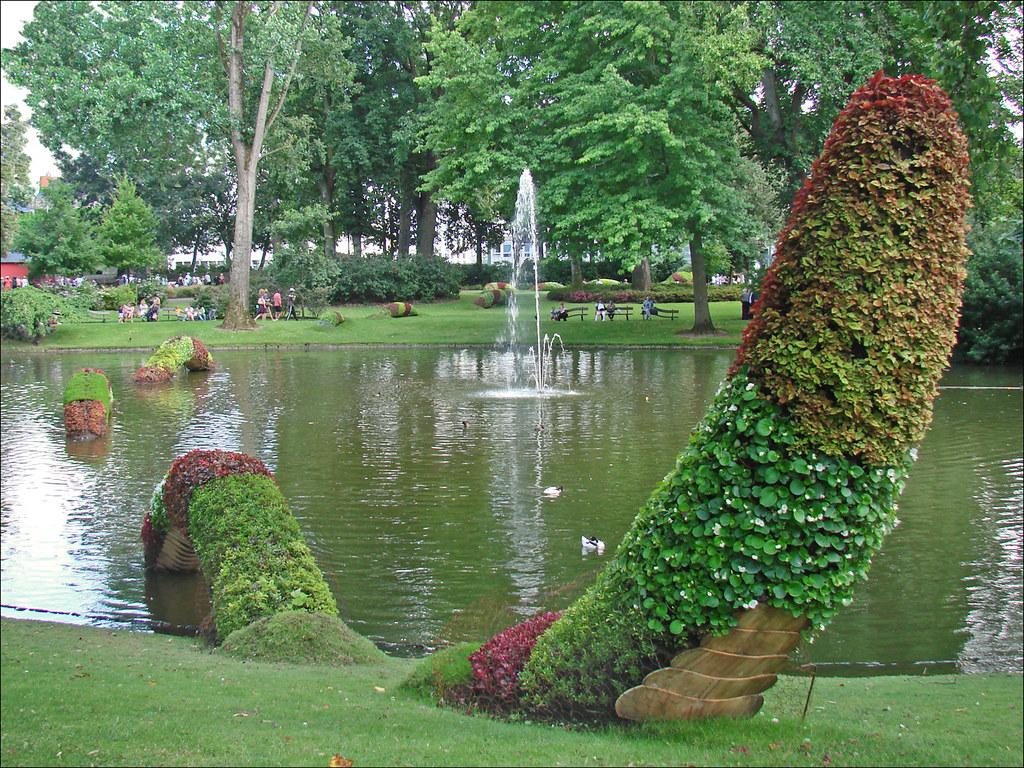 Claude Ponti Au Jardin Des Plantes Le Voyage Nantes 201