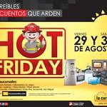 Este viernes podras comprar con DESCUENTOS que ARDEN hot friday