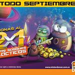 MISTER DONUT TODO Septiembre 2014 promocion DONAS al 2x1