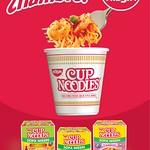 Instant SOP NISSIN cup noodles