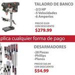 Ferreteria SEARS lunes descuentos CRAFTSMAN tools electric - 21jul14