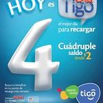 beneficios y bonos en tus recargas TIGO - 11ago14
