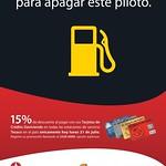 Gas station DISCOUNTS banco davivienda - 21jul14
