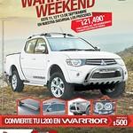 WARRIOR weekend mitsubishi pickup L200 - 11sep14