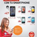 Cuales son los smartphone de CLARO el salvador - 28jul14