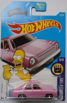 Hot Wheels The Simpsons Family Car 2017 HW Screen Time 9/10