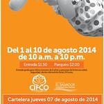 Cartelera de actividades CONSUMA 2014- 07ago14