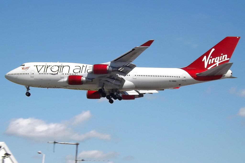 G-VBIG Boeing 747-400 Virgin Atlantic