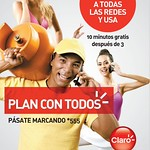Habla GRATIS con el PLAN TODOS de CLARO el salvador - 02sep14