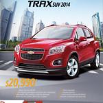 discounts AUTO FACIL el salvador chevrolet trax suv 2014