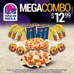 Mega combo TACO BELL tacos burritos pizza de todo