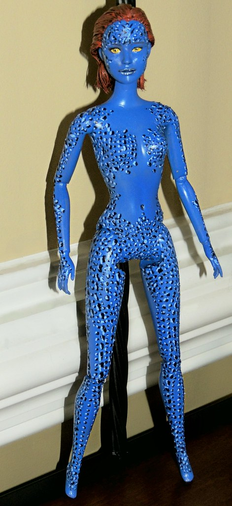 X Men Days Of Future Past Mystique Doll I Took The Hunge Flickr