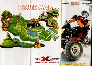 Brochure The Peak Adventure ATV Chiang Mai Thailand 1