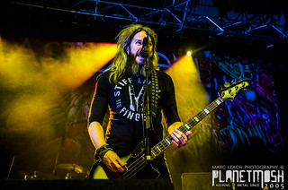 Mastodon live at Ulster Hall, Belfast, 28 June 2015